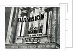Advertising that Television was being shown at the Metropole during Derby Week by English School