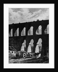 Aqueduct at Rio by French School