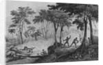 Jaguar Hunt by French School