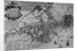 Plan of Boston, New England by American School
