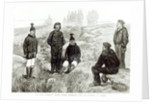 English sailors fraternising with the Eskimoes at Godhavn by English School