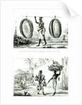 Head baskets and a poultry seller by Jean Baptiste Debret