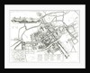 Map of Oxford by Wenceslaus Hollar