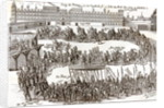Entry of Prince Charles I into Madrid by German School