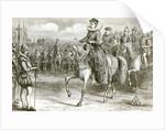 Queen Elizabeth at Tilbury by Matthew White Ridley