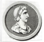 Portrait of Theodosius by Henry R. Cook