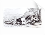 Hermaphrodite in the Borghese Gardens by Francois Perrier