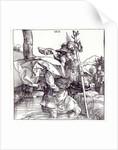 St.Christopher carrying the Infant Christ by Albrecht Dürer or Duerer