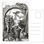 Harrowing of Hell or Christ's descent into Limbo by Albrecht Dürer or Duerer