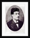 Portrait of Gustav Mahler by Austrian Photographer