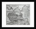 Map of St.Petersburg by Dutch School
