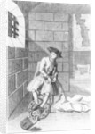 Jack Shepperd in Newgate Prison by English School