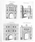 Moorgate, Cripplegate, Ludgate and The Bridgegate by English School
