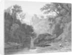 View of Roslin Castle by John Thomson