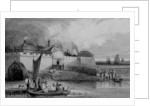 View of Tilbury Fort by English School