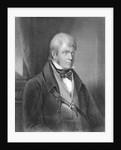 Portrait of Walter Scott by Gilbert Stuart Newton