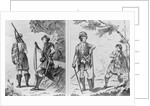 Scottish Soldiers of the Highlands and An Highland Officer and Serjeant by English School