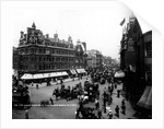 Tottenham Court Road from Oxford Street, London by English Photographer