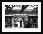Interior of Charing Cross Station, London by English Photographer
