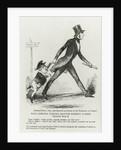 Papa Cobden taking Master Robert a free trade walk by Richard Doyle