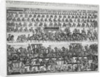 Funeral procession for the Duke of Marlborough by English School