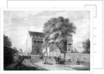 North-East View of King John's Palace at Eltham in Kent by Paul Sandby