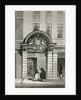 Barber Surgeon's Hall, Monkwell Street by Thomas Hosmer Shepherd