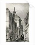 Physician's College, Warwick Lane by Thomas Hosmer Shepherd