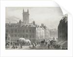 Holborn Bridge by Thomas Hosmer Shepherd