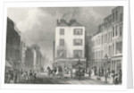 Middle Row Holborn by Thomas Hosmer Shepherd