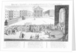Rich's Glory or his Triumphant Entry into Covent-Garden by English School