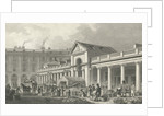 The N.W. facade of the new Covent Garden market by Thomas Hosmer Shepherd