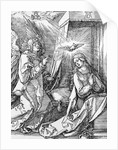 The Annunciation from the 'Small Passion' series by Albrecht Dürer or Duerer