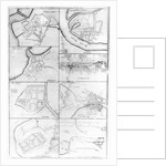Plans of the principle Towers, Forts and Harbours in Ireland by English School