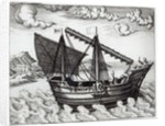 A Chinese Junk by Johannes Baptista van