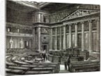 Interior of Houses of Parliament, Vienna by English School