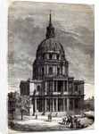 Church of the Invalides, containing the Tomb of Napoleon, Paris by English School