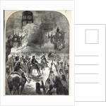 The burning of Old St. Paul's by English School