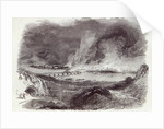 Great Fire at Pittsburgh by English School