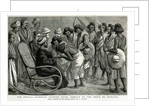 The Soudan: Friendly natives doing homage to the Sheik el Morgani by Frederic Villiers