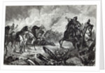 The horses of Gravelotte by English School