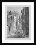 High School, Wynd, Edinburgh engraved by William Watkins by Thomas Hosmer Shepherd