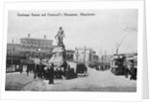 Exchange Station and Cromwell's Monument, Manchester by English Photographer