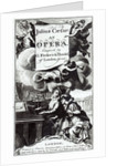 Cover of Sheet Music for Julius Caesar, an Opera by Handel by English School