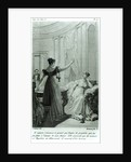 The Empress Josephine reveals the prophesy made to her by Marie Anne Adelaide Le Normand by Julie Ribault