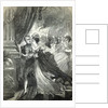 Napoleon and Marie-Louise escaping from the fire at the ball by English School