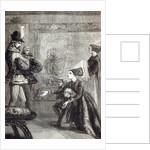 First Meeting of Edward IV and Lady Elizabeth Gray by English School