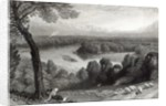 The Thames from Richmond Hill by Myles Birket Foster