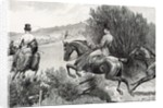 Prince Albert Hunting near Belvoir Castle by English School