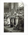 Christening of the Princess Louise in Buckingham Palace Chapel by English School